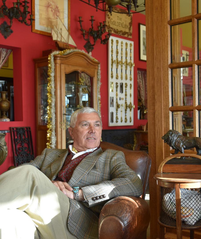 The Golden Lion Founder Arnaud Massonnat