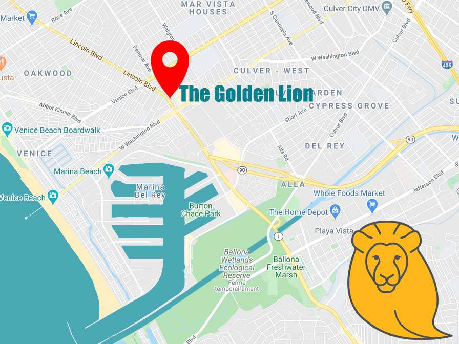 The Golden Lion Location